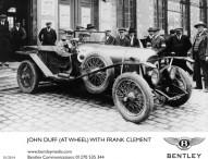 Das berühmte Le Mans-Siegerauto steht im Fokus des Bentley Auftritts