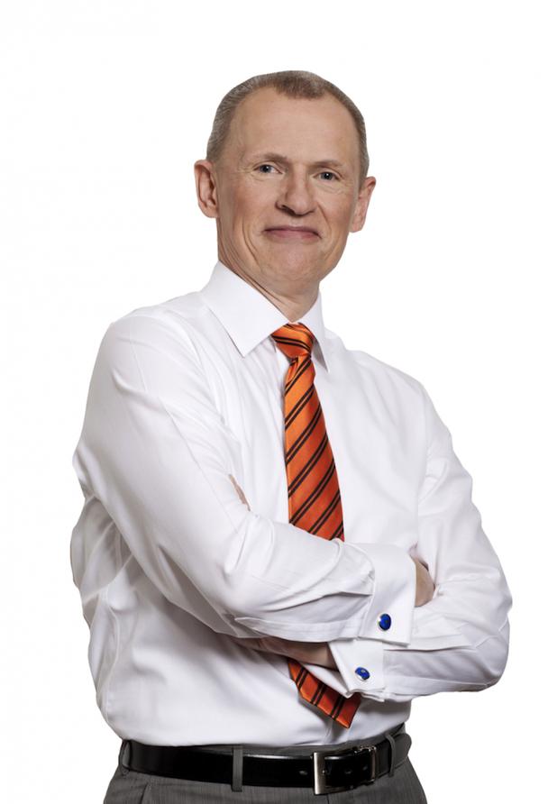 Photo of Wolfgang Bönisch mit Expertenvortrag auf der Didacta 2014