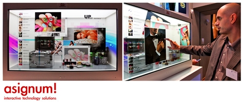 Photo of Transparente Displays