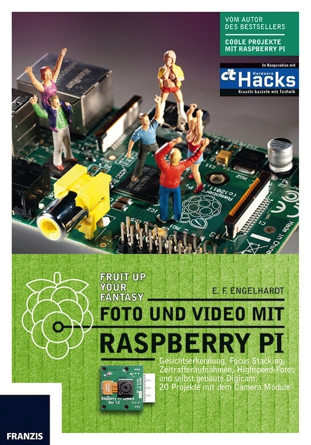 Photo of FRANZIS – Foto und Video mit Raspberry Pi