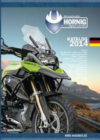 Bild von Der neue Hornig Motorradzubehör – Katalog 2014