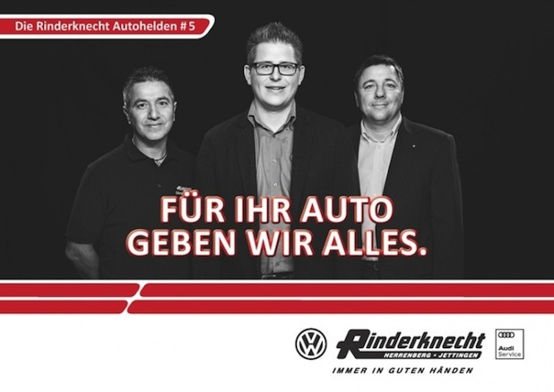 Photo of PRINZIP E bewirbt Autohaus mit außergewöhnlicher Kampagne