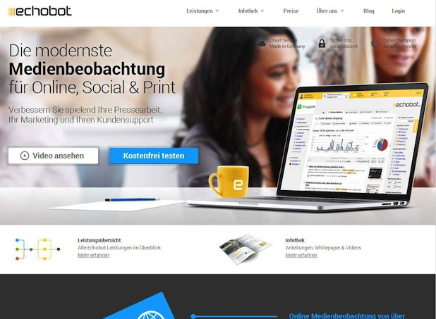 Photo of Echobot Media Technologies GmbH relauncht Website