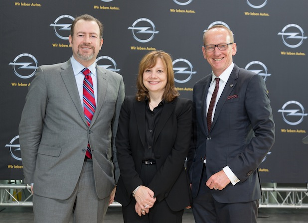 Photo of Neue GM CEO Mary Barra besucht Opel in Rüsselsheim