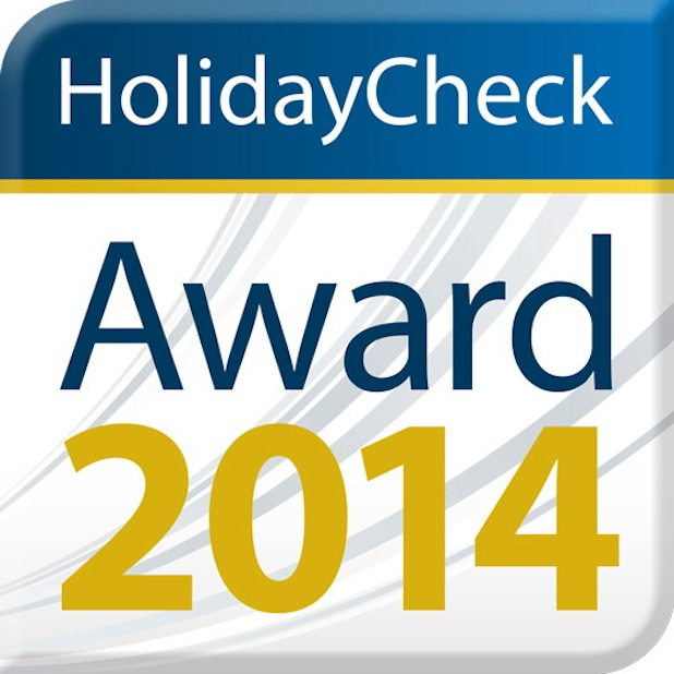Photo of HolidayCheck Award 2014
