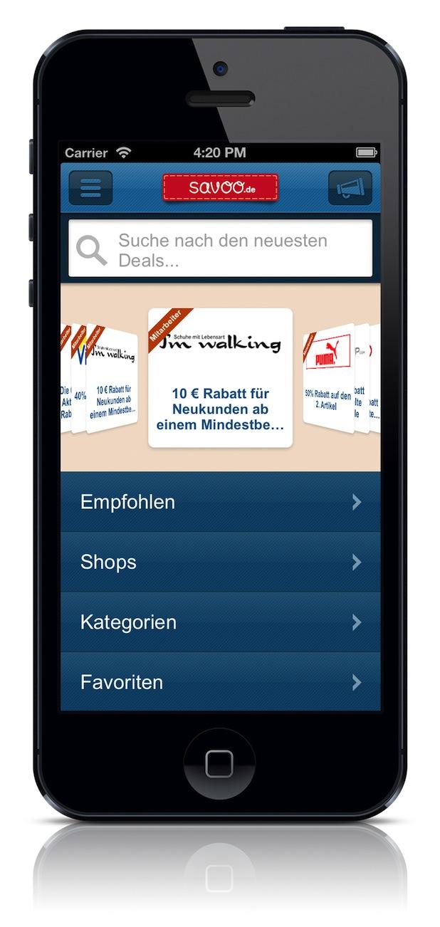 Bild von Internationale Gutschein-App für mobile Verbraucher