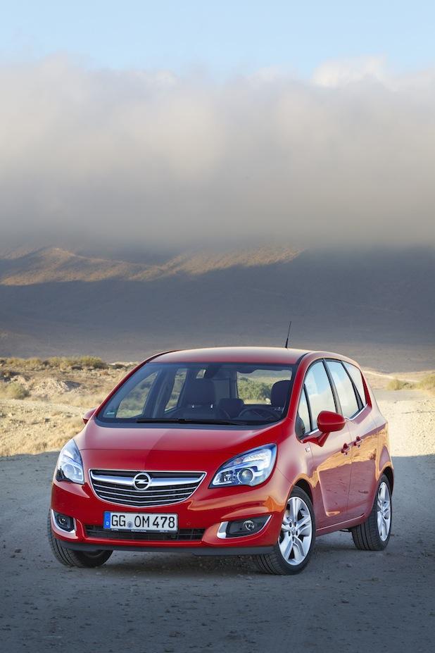 Bild von Neuer Opel Meriva