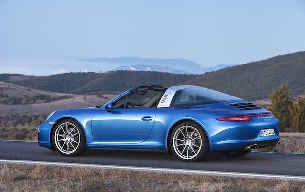 Bild von Der neue Porsche 911 Targa