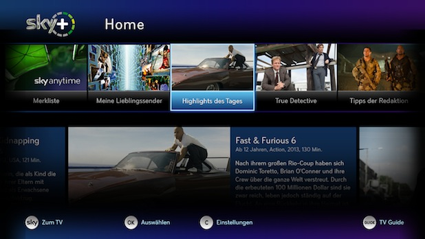 Photo of Sky Home vereint lineare und On Demand Programme