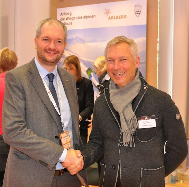 Bild von ITB 2014: Lech Zürs Tourismus präsentiert neue Team Card