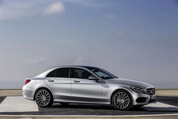 Quelle: Daimler AG , Foto -  Mercedes-Benz neue C-Klasse, C250, AMG Line, Avantgarde, Exterieur