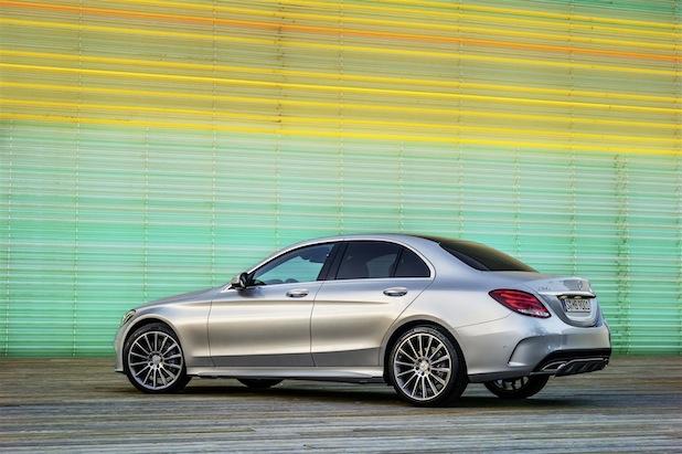 Mercedes-Benz C-Klasse C 250 AMG Line, Exterieur / ENG: Mercedes-Benz C-Class C250 AMG Line, exterior