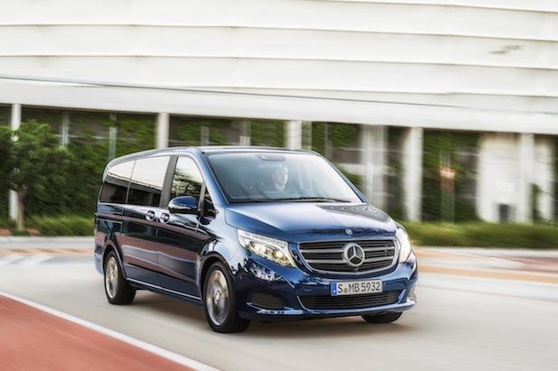 Bild von Die Mercedes-Benz V-Klasse – jetzt im Handel bestellbar