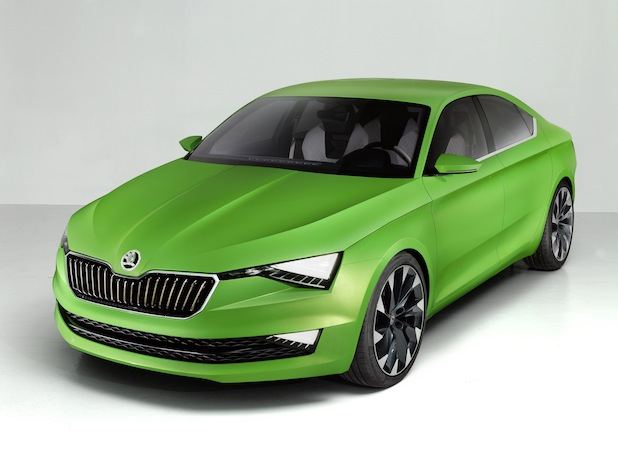 "Photo of Weltpremiere für Designstudie ""SKODA VisionC"" in Genf"