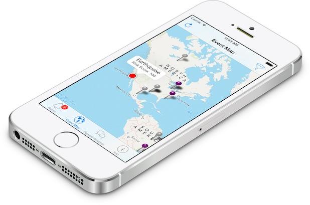 Bild von Erste App für Supply Chain Risk Management