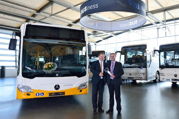Photo of 1000ster Mercedes-Benz Citaro in Euro VI ausgeliefert