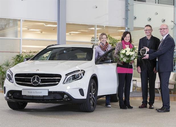 Bild von Marktstart in Europa für Mercedes-Benz C-Klasse und GLA