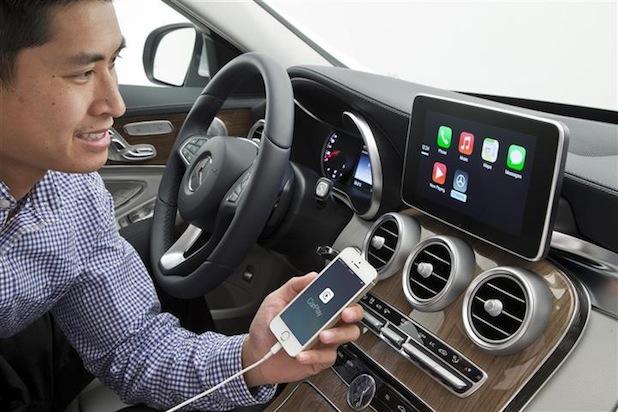 Bild von Mercedes-Benz bleibt Trendsetter bei Smartphone-Integration
