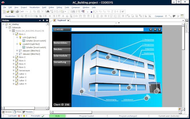 Bild von Gebäudeautomation mit CODESYS und BACnet