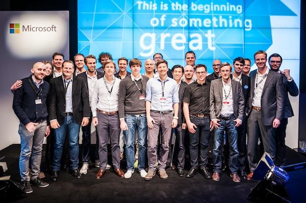 Bild von Neun Startups präsentieren ihre Geschäftsideen auf der Demo Night