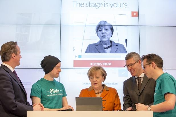 Photo of Angela Merkel läutet zweite Runde der Microsoft Gründerklasse ein