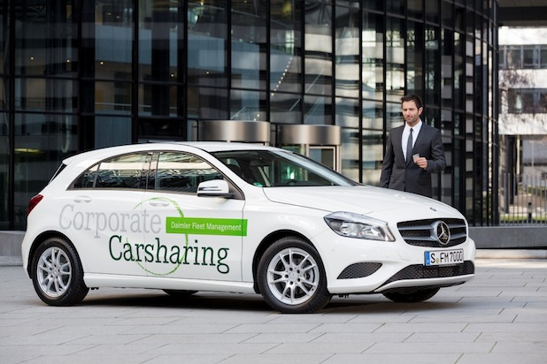Photo of Daimler Fleet Management bringt Corporate Carsharing in die Fuhrparks