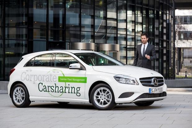 Bild von Daimler Fleet Management bringt Corporate Carsharing in die Fuhrparks