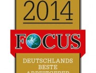 """Focus""-Spezial ""TOP nationale Arbeitgeber 2014"""