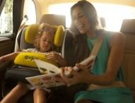 Überlegenheit von Kindersitzen mit Sicherheitskissen