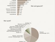 IT-Stellenmarkt überproportional gewachsen