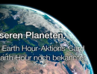 Jeder kann Klima – Earth Hour 2014