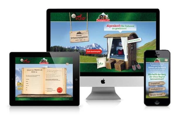 Photo of CODE64 realisiert online Gewinnspiel für Bergbauernmilch