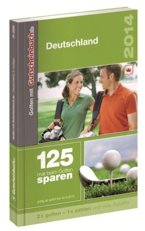 Bild von Golfen mit Gutscheinbuch 2014/2015