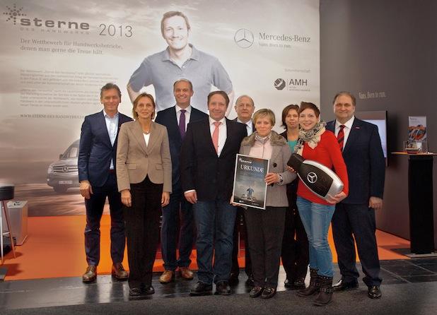 """Bild von """"Stern des Handwerks 2013"""" gewinnt einen Mercedes-Benz Vito"""