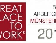 Beste Arbeitgeber im Münsterland 2014 ausgezeichnet