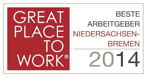 Bild von Attraktive Arbeitgeber aus Niedersachsen und Bremen ausgezeichnet