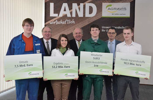Photo of AGRAVIS Raiffeisen AG steigert Umsatz auf über 7,5 Mrd. Euro