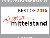 """""""Meine Bank vor Ort.de"""" (MBVO.de) gewinnt Innovationspreis-IT 2014"""