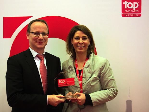 """Bild von Santander Consumer Bank ist """"Top Arbeitgeber Deutschland 2014"""""""
