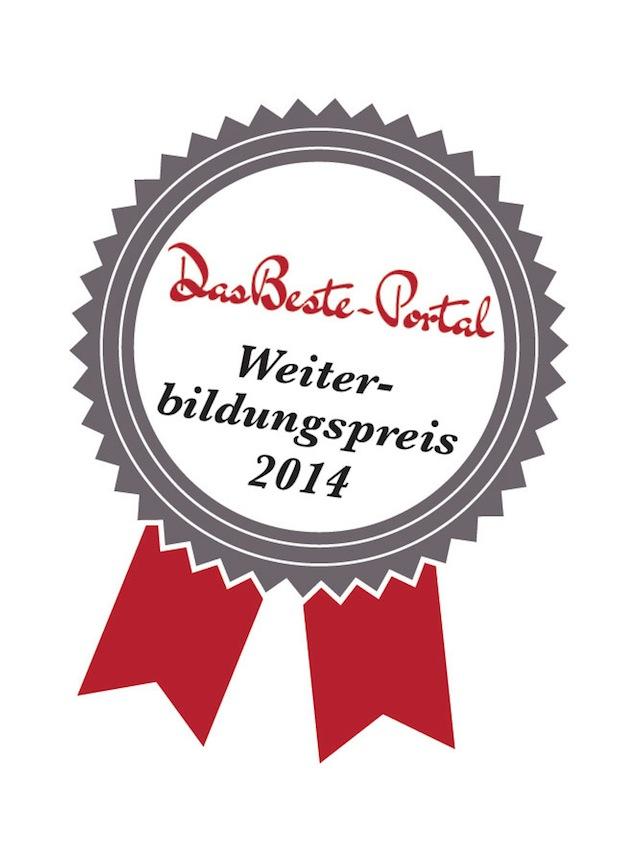 Photo of DasBeste Weiterbildungspreis 2014