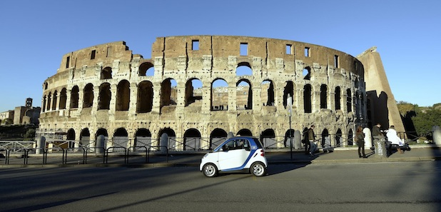 Photo of Ciao Roma! car2go startet in Rom