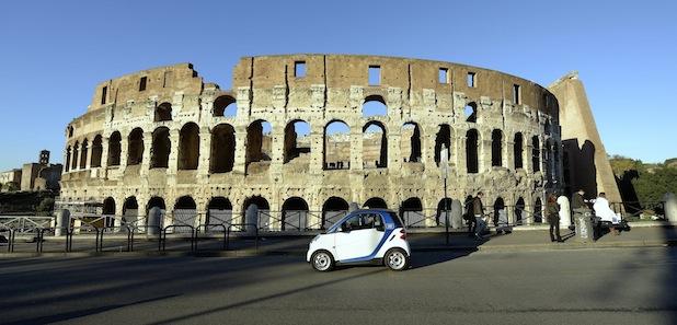 Bild von Ciao Roma! car2go startet in Rom
