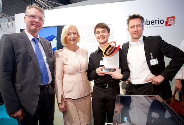 Photo of CeBIT Innovation Award 2014