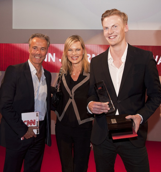 Photo of CNN Journalist Award 2014