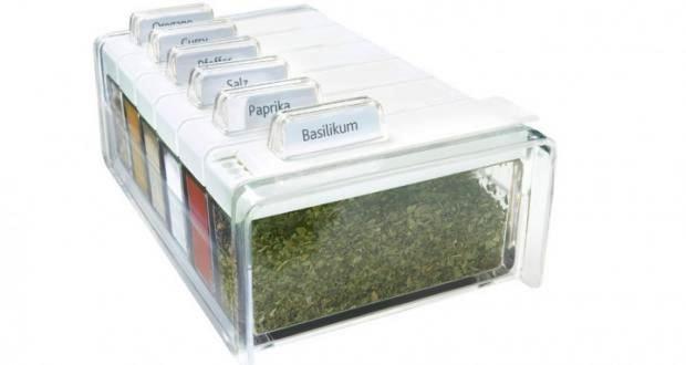 Photo of Die Emsa Spice Box Gewürzkartei für kleine Küchen