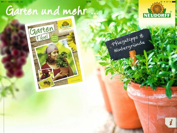 Bild von Garten und mehr – neue App für Garten-Fans