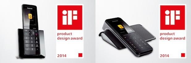 Bild von Internationale Auszeichnung für Panasonic DECT Telefone