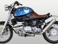 BMW R1100R Scrambler Umbau von Hornig