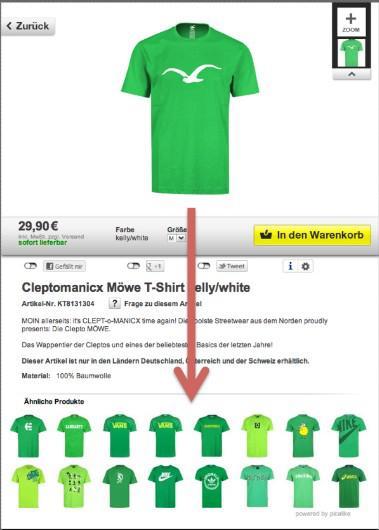 Bild von Ausverkauft? picalike steigert Effizienz produktbezogener Werbung in Online-Shops