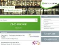Jobbörse des Regionalmarketings Oberpfalzjobs.de überarbeitet